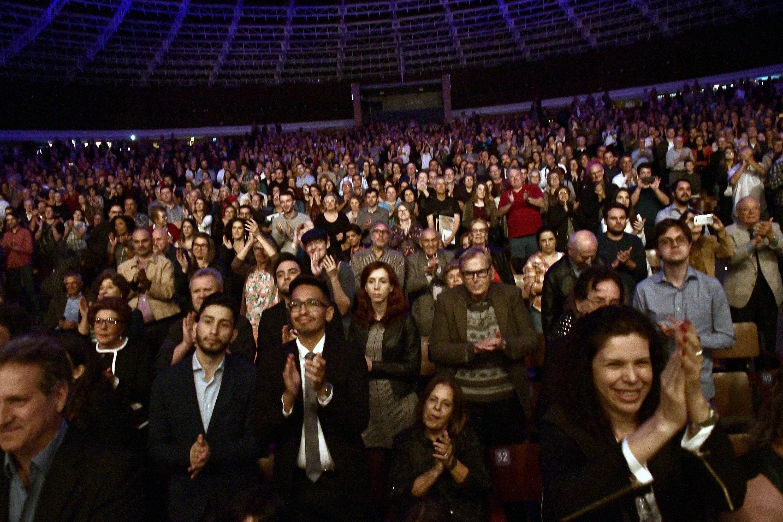 Audience at the Auditório Araújo Vianna