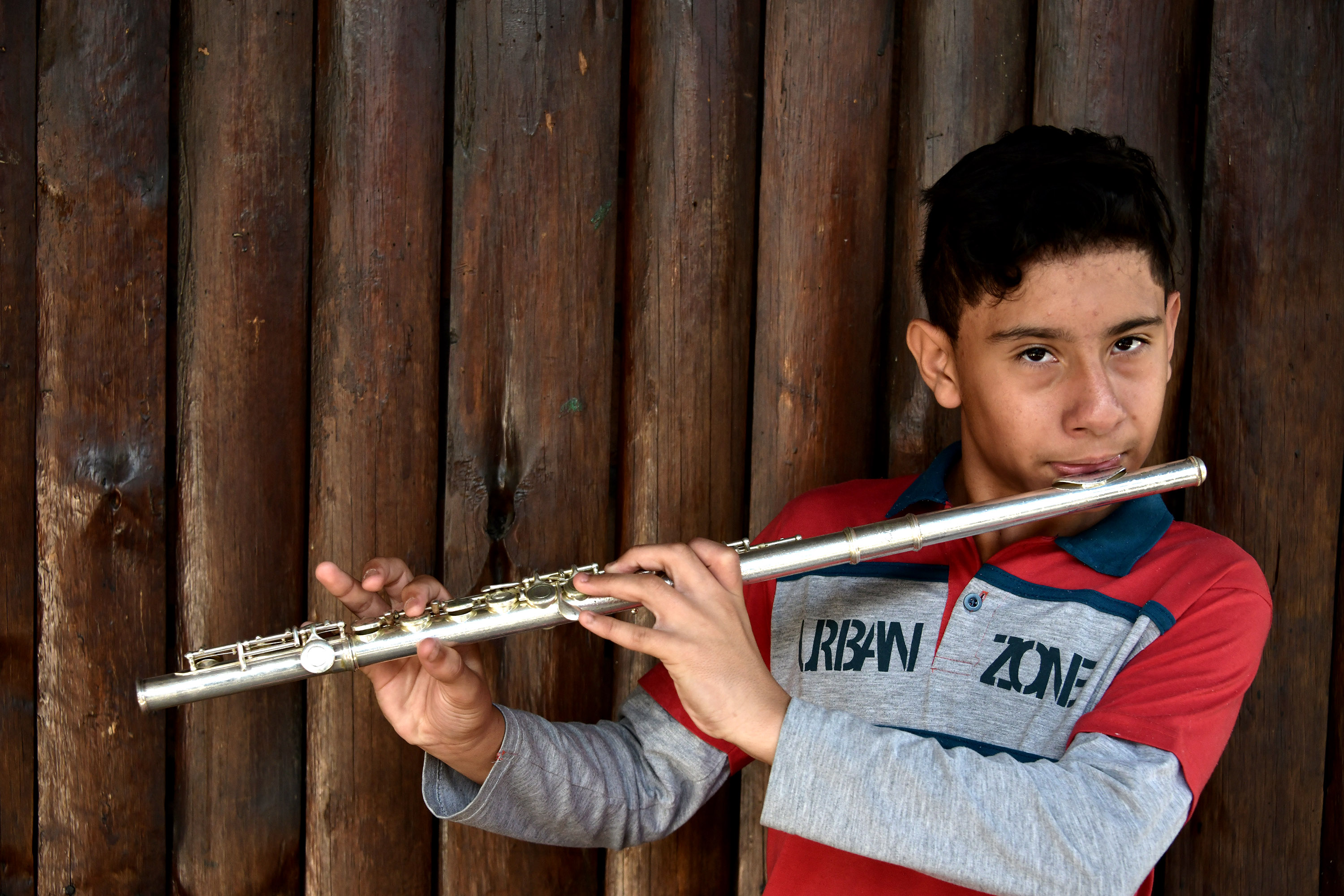 IPDAE flute student