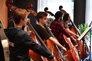 FY18 BPYO Tour - Bass Section (credit - Paul Marotta)