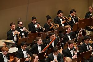FY18 BPYO Tour - Rudolfinum brass section (credit - Paul Marotta)