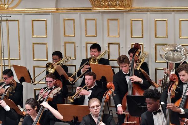 FY18 BPYO Tour - Salzburg Mozarteum 4 (credit - Paul Marotta)