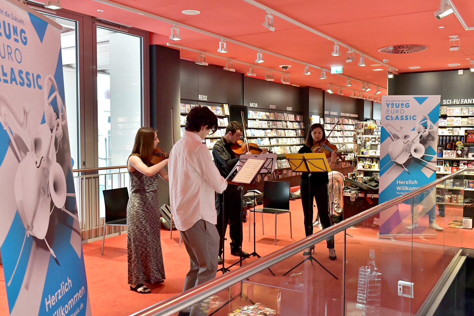 FY18 BPYO Tour - BPYO String Quartet Berlin (credit - Paul Marotta)