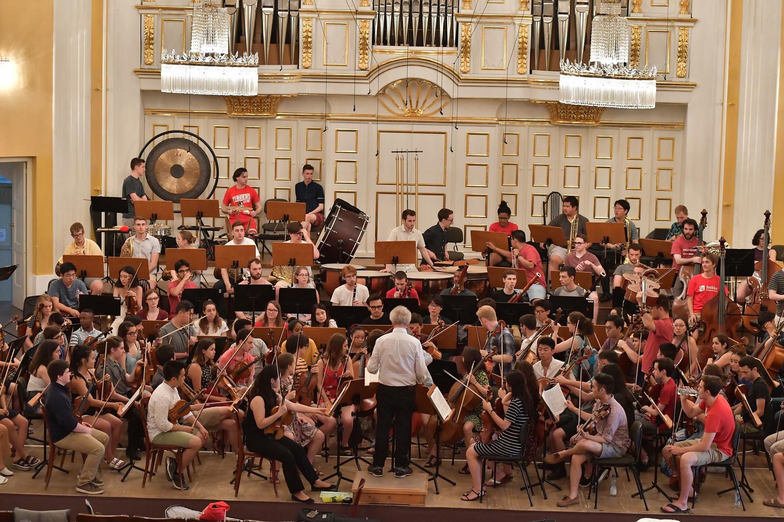 FY19 BPYO Tour - Salzburg Mozarteum Dress Rehearsal (credit - Paul Marotta)