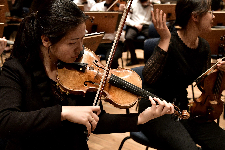 Rehearsal in the Sala São Paulo