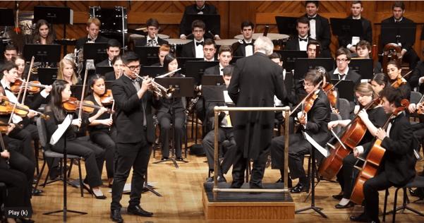 Elmer Churampi performs Hummel's Trumpet Concerto